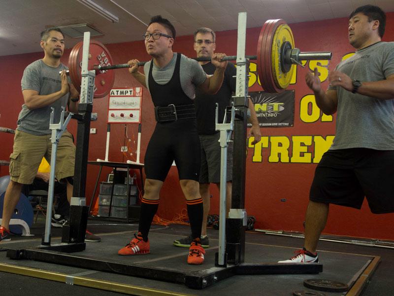 andrew Lee arizona state record squat