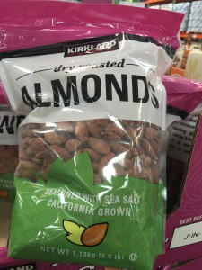 are salted almonds healthy?