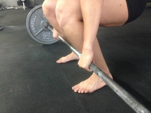 Deadlifting with Knees too far over the bar