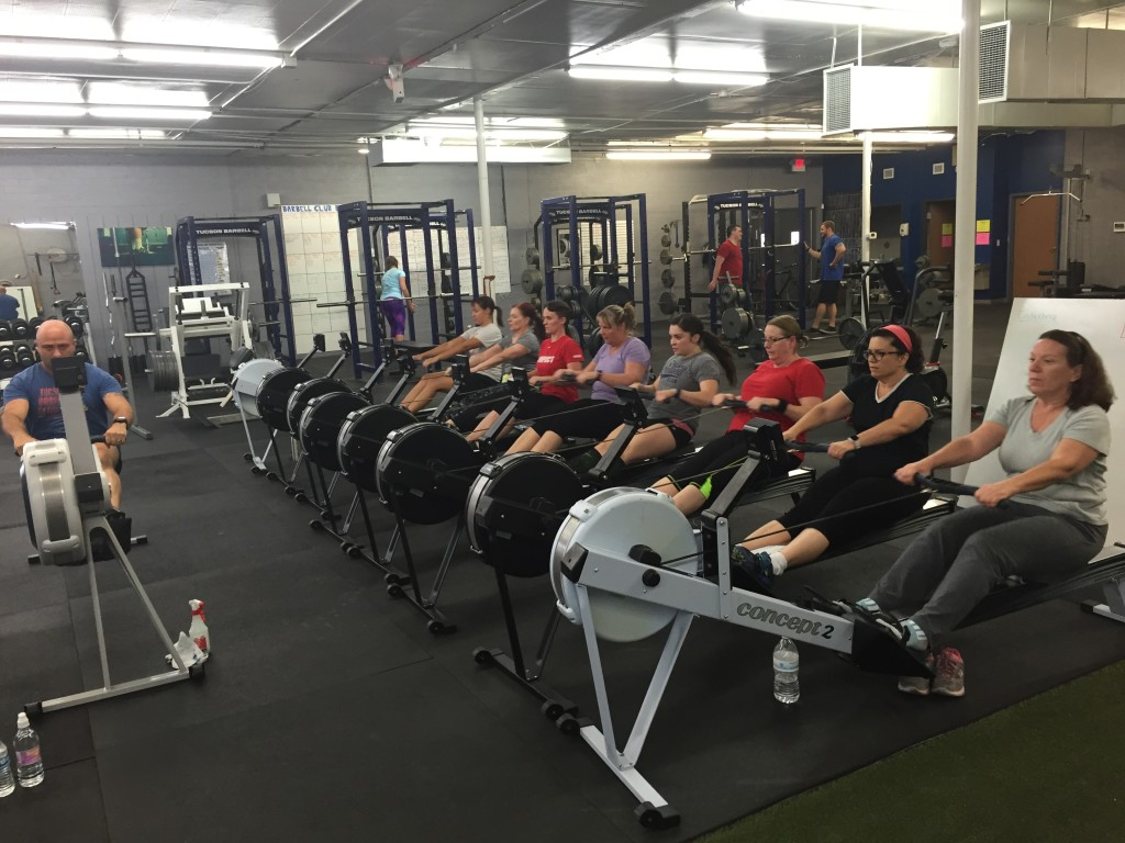 Concept 2 rowing Classes Tucson , Crossfit, strength and conditioning