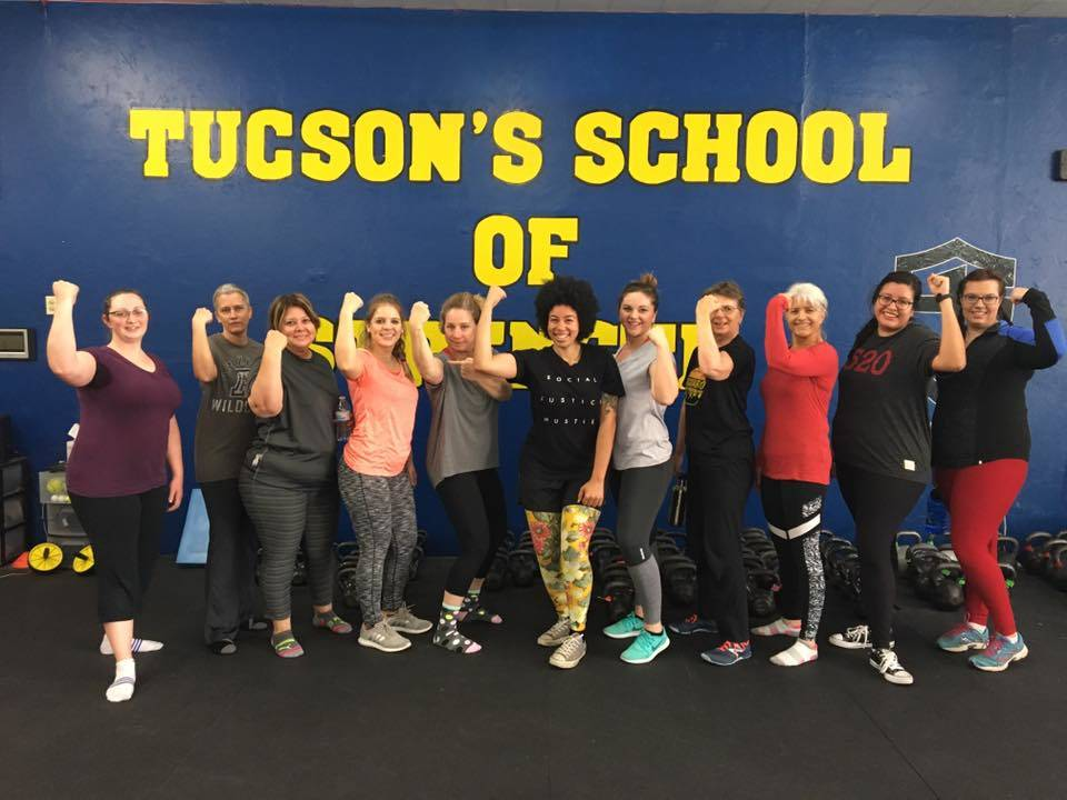 Women Strength Training groups Tucson