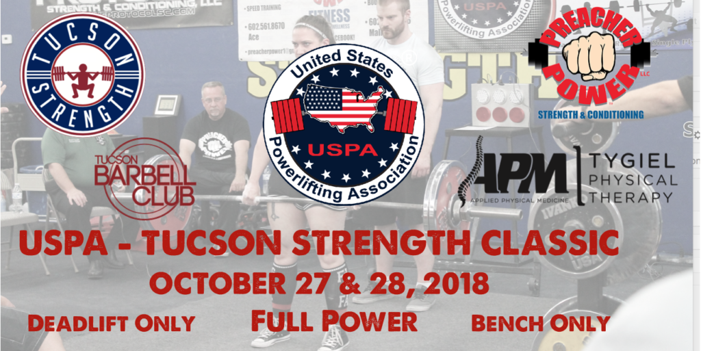 Tucson Powerlifting Meets Barbell Clubs