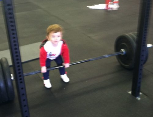My Daughter: Dad, I can definitely deadlift more than he does!