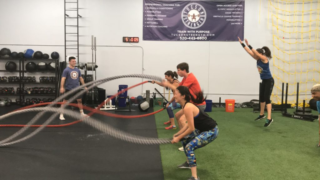 Group Training Tucson Fitness gyms