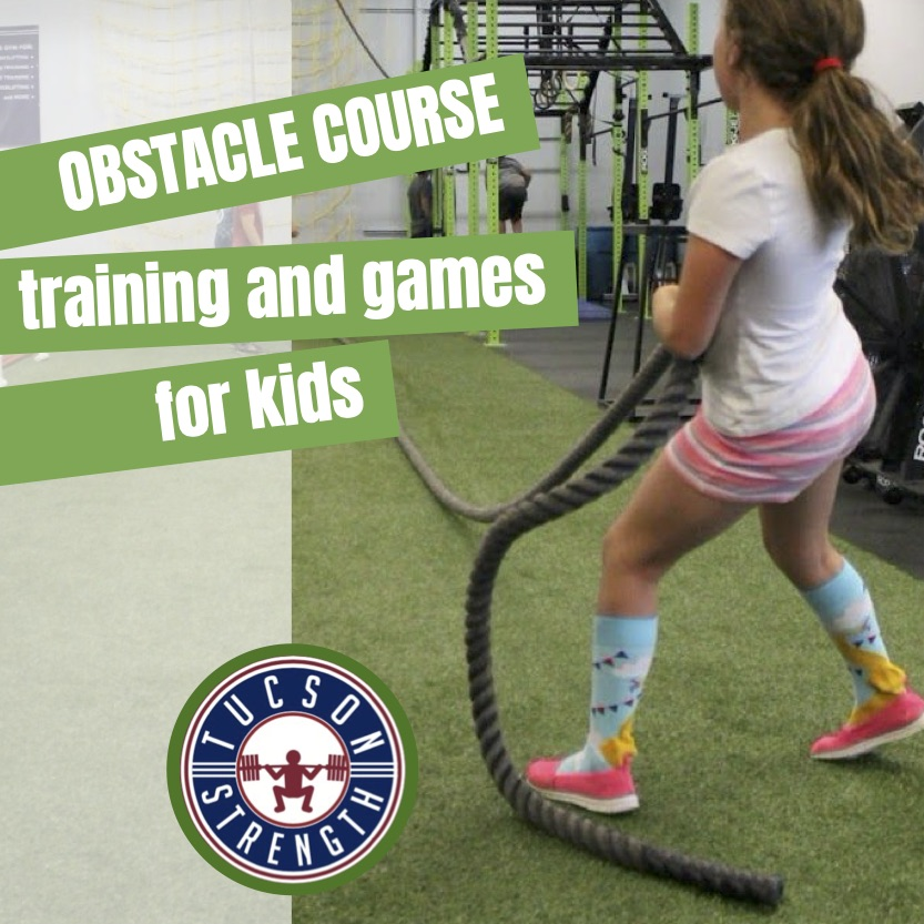 SUMMER KIDS OBSTACLE COURSE AND FITNESS CLASS