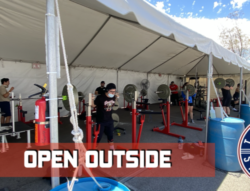 Tucson Strength is Open Outside