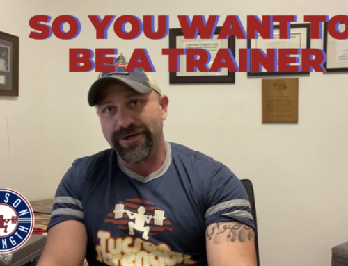 So You Want to be a Personal Trainer