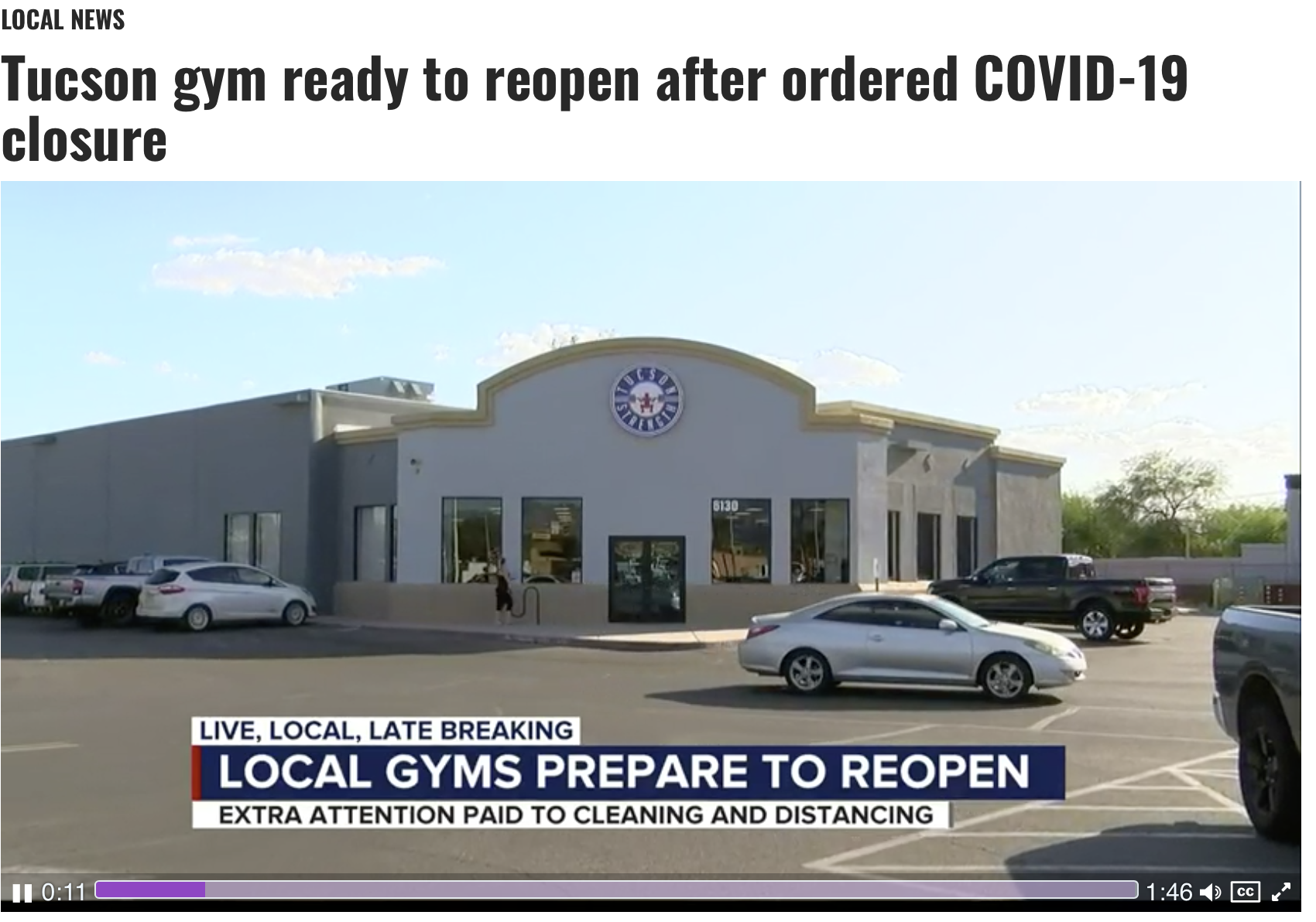 Tucson Strength In the KOLD 13 News