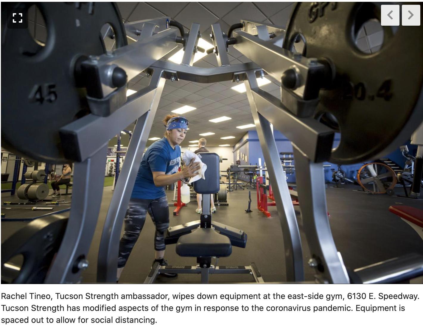Tucson Strength gyms