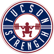 TUCSON STRENGTH: GYM, PERSONAL TRAINING, POWERLIFTING  & MORE Logo