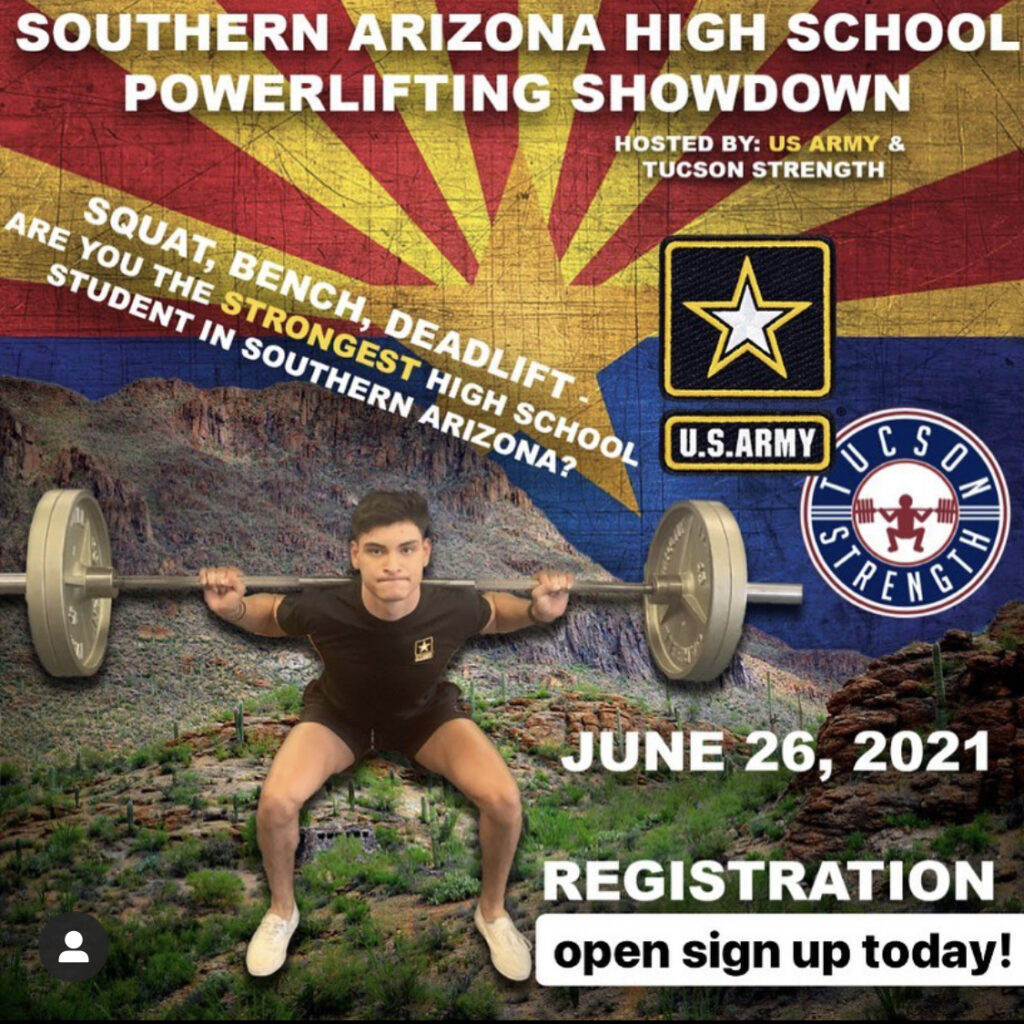 US ARMY HIGH SCHOOL POWERLIFTING MEET