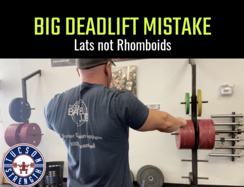 Common Deadlifting Mistake