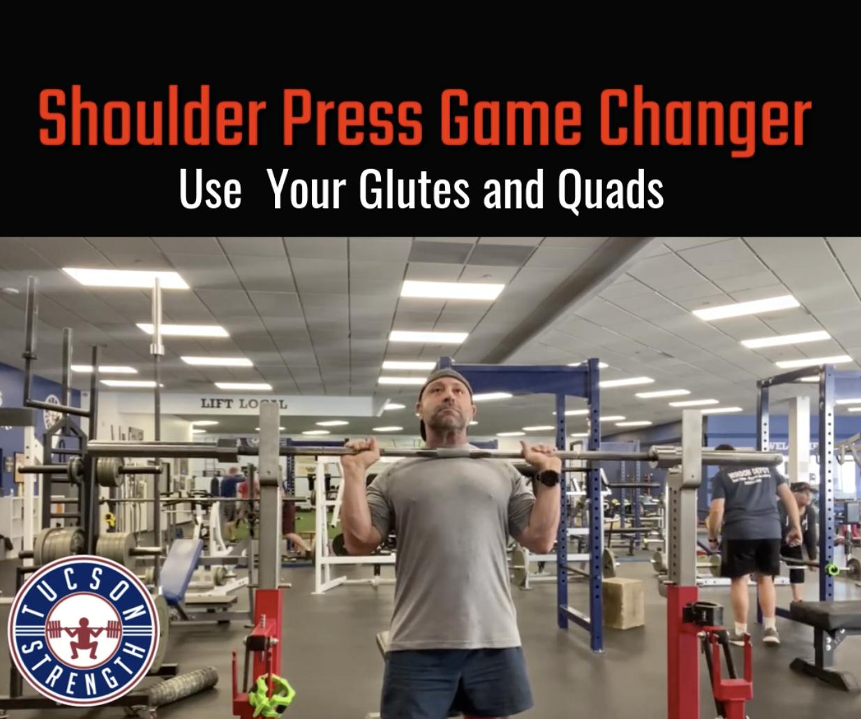 Shoulder Press powerlifting Instruction