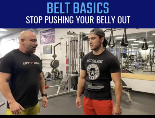 Basics of Wearing A Weightlifting Belt